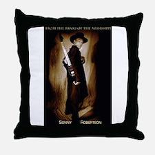 Sonny Robertson Throw Pillow