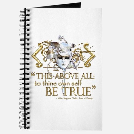 """Hamlet """"Be True"""" Quote Journal"""