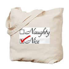 Nice-check Tote Bag