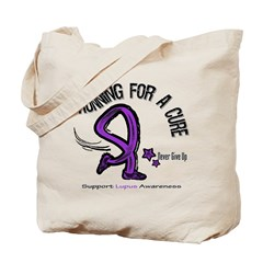 Lupus Running For A Cure Tote Bag