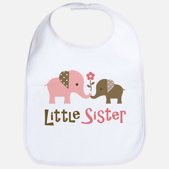 Little Sister - Mod Elephant Bib