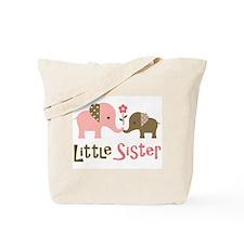 Little Sister - Mod Elephant Tote Bag