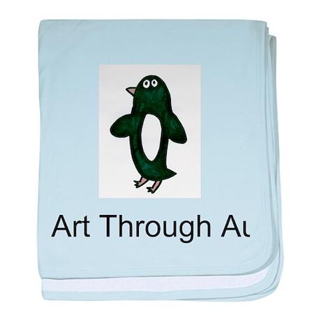 Caitlin's Penguin baby blanket