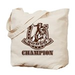 rodeo champion Tote Bag