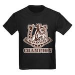 rodeo champion Kids Dark T-Shirt