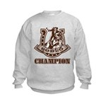rodeo champion Kids Sweatshirt