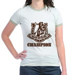 rodeo champion Jr. Ringer T-Shirt