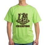 rodeo champion Green T-Shirt