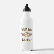 Number 1 Secretary Water Bottle