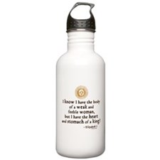 Elizabeth Tilbury Quote Water Bottle