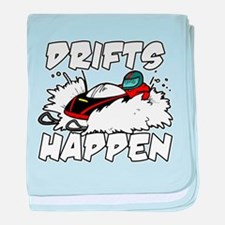 Drifts Happen baby blanket