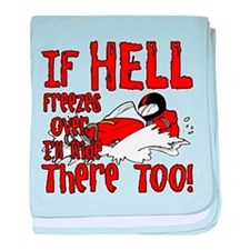 Hell Freezes Over baby blanket