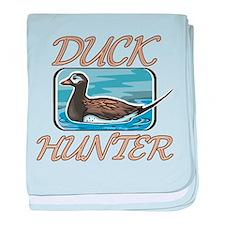 Duck Hunter baby blanket