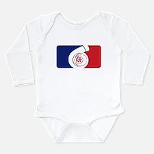 Major League Boost Long Sleeve Infant Bodysuit