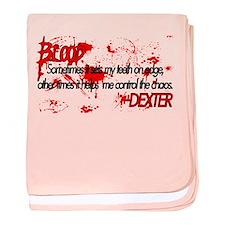 Dexter Blood baby blanket