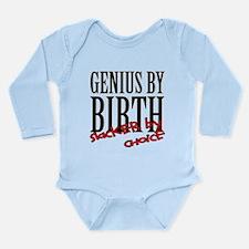Genius Slacker Long Sleeve Infant Bodysuit