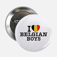 "I Love Belgian Boys 2.25"" Button"