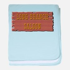 Long Branch Saloon baby blanket