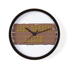 Long Branch Saloon Wall Clock