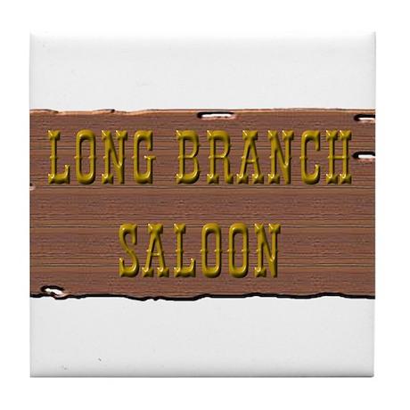Long Branch Saloon Tile Coaster