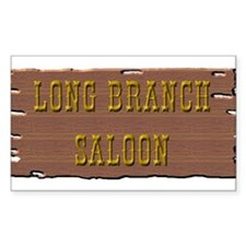 Long Branch Saloon Decal