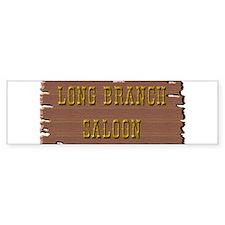Long Branch Saloon Bumper Sticker