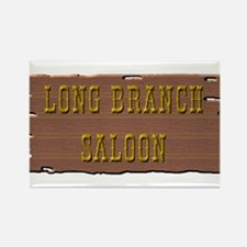 Long Branch Saloon Rectangle Magnet