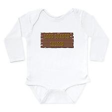 Long Branch Saloon Long Sleeve Infant Bodysuit