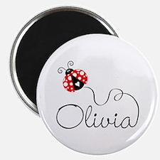 Ladybug Olivia Magnet