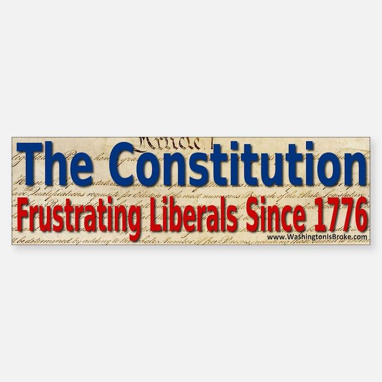The Constitution Bumper Bumper Sticker
