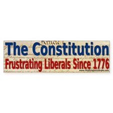 The Constitution Car Sticker