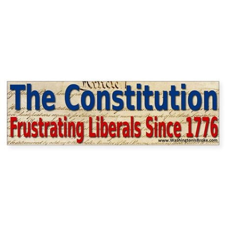 The Constitution Sticker (Bumper)
