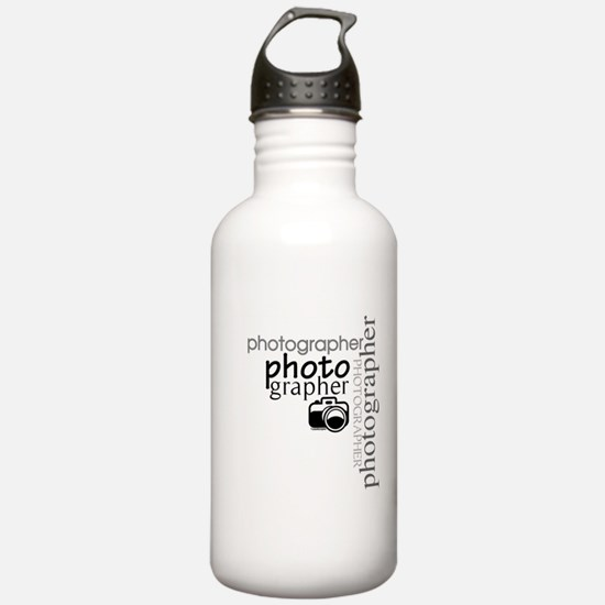 Photographer Water Bottle