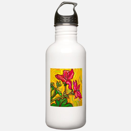 Floral Brights Water Bottle