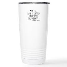 Jane Austen Quote Thermos Mug