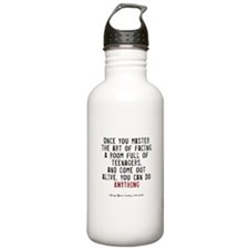 Teacher Quote Water Bottle