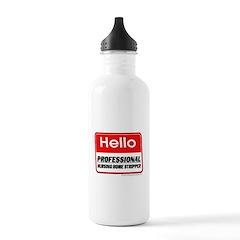 Nursing Home Stripper Water Bottle