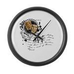 The Alchemy of Acting Large Wall Clock