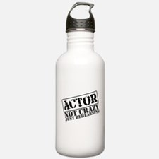 Not Crazy Just Rehearsing Water Bottle