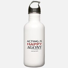 Acting is Happy Agony Water Bottle