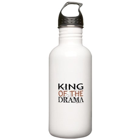 """King of the Drama"" Stainless Water Bottle 1.0L"
