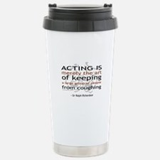 Sir Ralph Richardson Quote Travel Mug