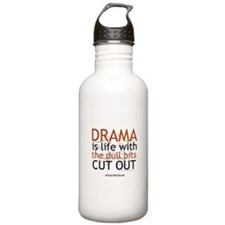 Alfred Hitchcock Quote on Dra Water Bottle