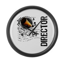 Director Alchemy Large Wall Clock