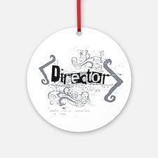 Grunge Director Ornament (Round)
