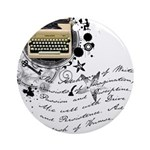 The Alchemy of Writing Ornament (Round)