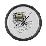 The Alchemy of Writing Large Wall Clock