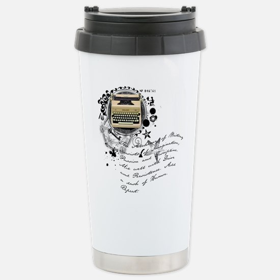 The Alchemy of Writing Stainless Steel Travel Mug