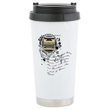 The Alchemy of Writing Travel Mug