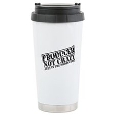 Not Crazy Just in Pre-Product Travel Mug